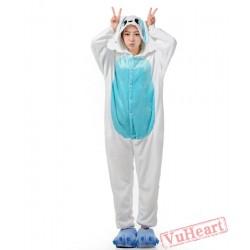 Blue Ears Rabbit Bunny Kigurumi Onesies Pajamas Costumes for Women & Men