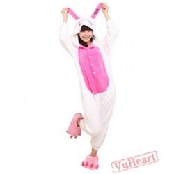 Rabbit Cartoon Kigurumi Onesies Pajamas Costumes for Women & Men