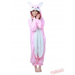 Pink Rabbit Bunny Kigurumi Onesies Pajamas Costumes for Women & Men