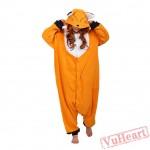 Fox Kigurumi Onesies Pajamas Costumes for Women & Men