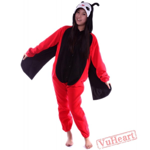 Ladybird Cosplay Kigurumi Onesies Pajamas Costumes for Women & Men