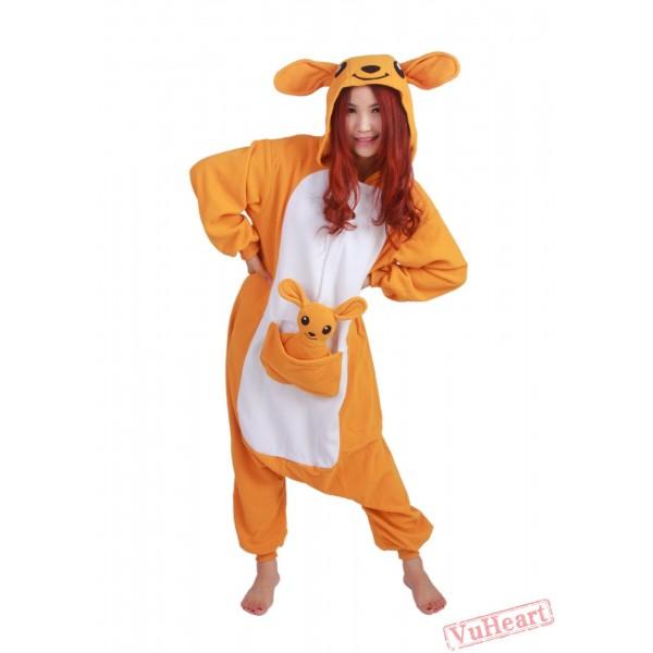 Kangaroo Kigurumi Onesies Pajamas Costumes for Women & Men