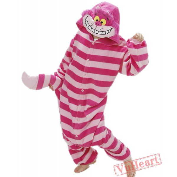 Monster Cheshire Cat Kigurumi Onesies Pajamas Costumes for Women & Men