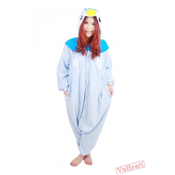 Blue Penguin Kigurumi Onesies Pajamas Costumes for Women & Men