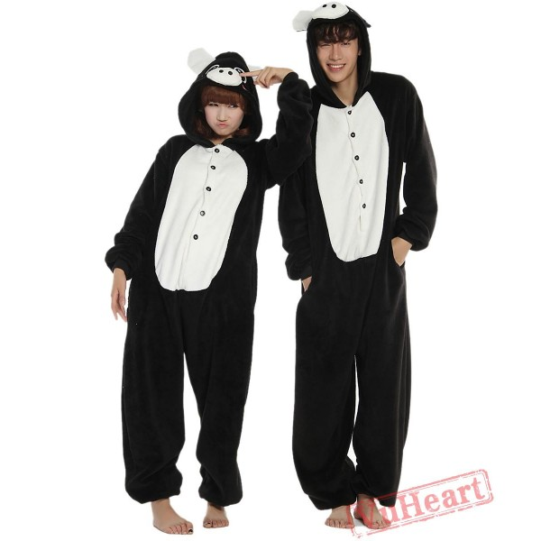 Black Pig Kigurumi Onesies Pajamas Costumes for Women & Men