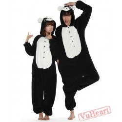 Black Pig Couple Onesies / Pajamas / Costumes