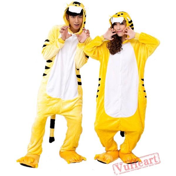 Tiger Couple Onesies / Pajamas / Costumes
