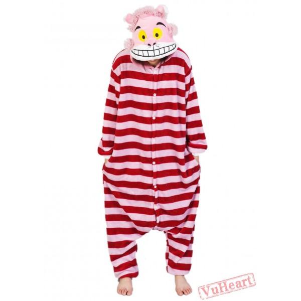 Cheshire Cat Kigurumi Onesies Pajamas Costumes for Women & Men