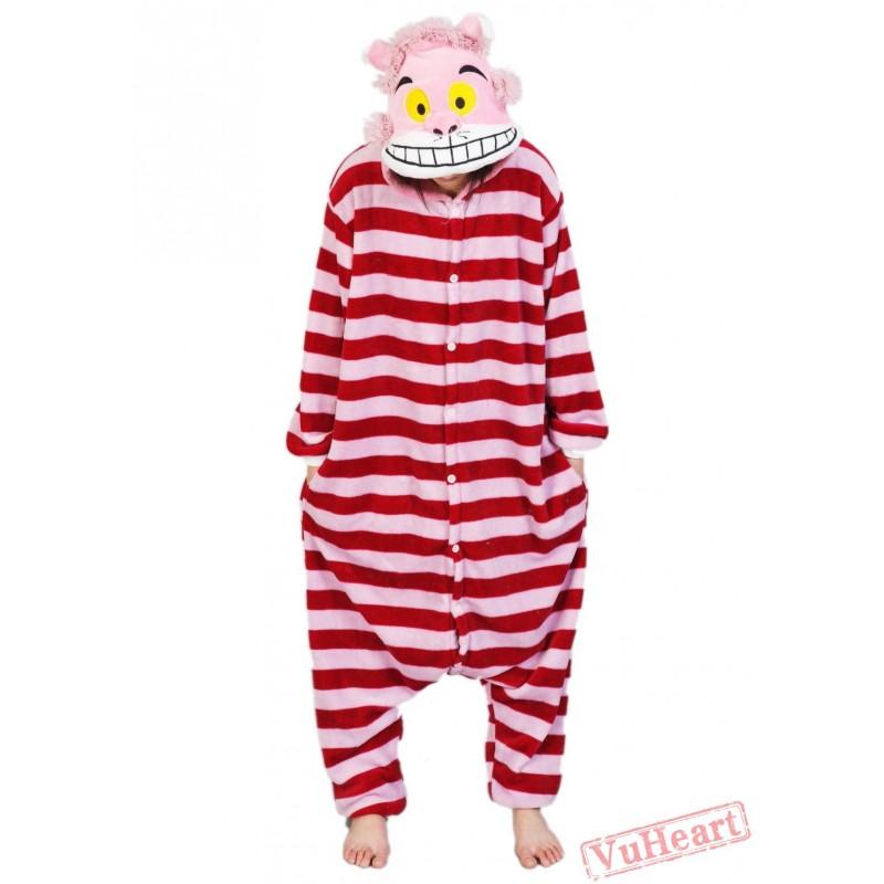 9ee533a4c Cheshire Cat Kigurumi Onesies Pajamas Costumes for Women & Men