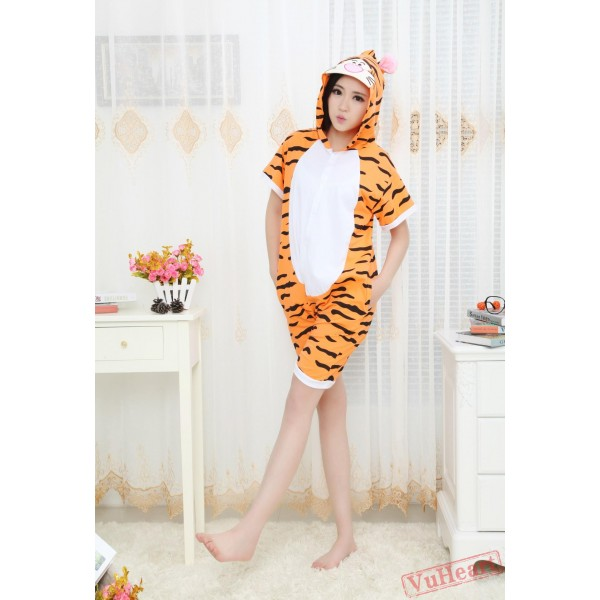 Summer Tigger Kigurumi Onesies Pajamas for Women & Men