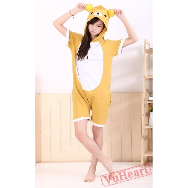 Summer Bear Kigurumi Onesies Pajamas for Women & Men