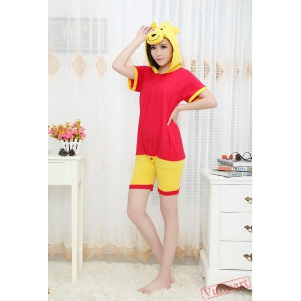 Summer Winnie The Pooh Kigurumi Onesies Pajamas for Women & Men
