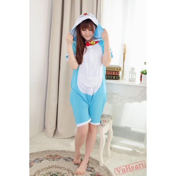Summer Doraemon Couple Onesies / Pajamas / Costumes