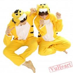 Spring & Autumn Tiger Kigurumi Onesies Pajamas for Women & Men