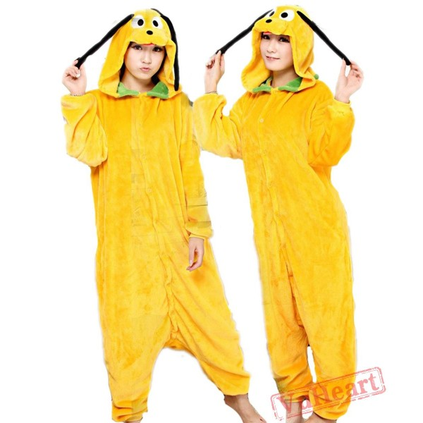 Goofy Dog Kigurumi Onesies Pajamas Costumes for Women & Men