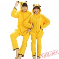 Pikachu Couple Onesies / Pajamas / Costumes