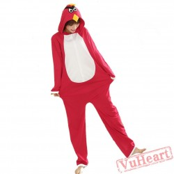 Spring & Autumn Red Angry Bird Kigurumi Onesies Pajamas for Women & Men