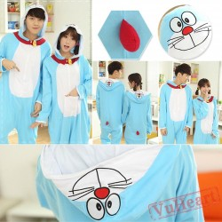 Doraemon Couple Onesies / Pajamas / Costumes