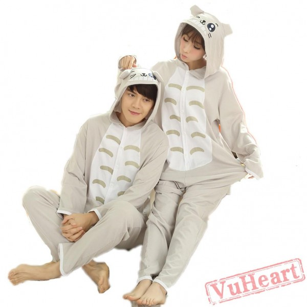 Spring & Autumn Totoro Kigurumi Onesies Pajamas for Women & Men