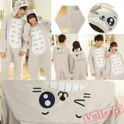 Spring & Autumn Totoro Kigurumi Onesies Pajamas for Women & Men