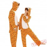 Spring & Autumn Tigger Kigurumi Onesies Pajamas for Women & Men