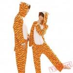 Tigger Couple Onesies / Pajamas / Costumes