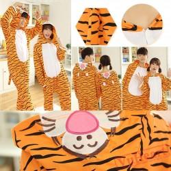 Spring & Autumn Tigger Kigurumi Onesies Pajamas for Women & Men