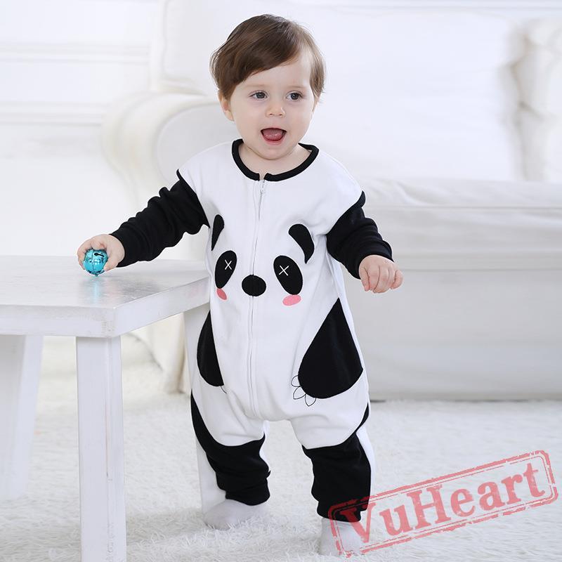 winter onesies baby cute panda onesie costume kigurumi onesies. Black Bedroom Furniture Sets. Home Design Ideas