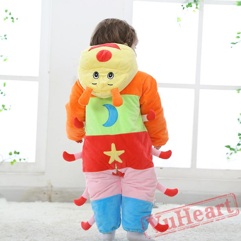 Winter Onesies Baby Caterpillar Onesie Costume