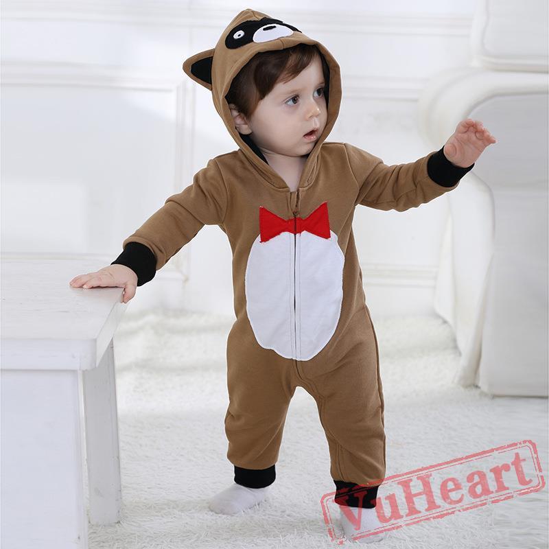 afc5864dddd2 Winter Onesies - Baby Cute Raccoon Onesie Costume - Kigurumi Onesies