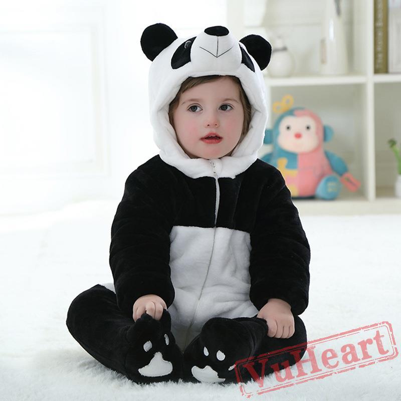 winter onesies baby panda onesie costume kigurumi onesies. Black Bedroom Furniture Sets. Home Design Ideas