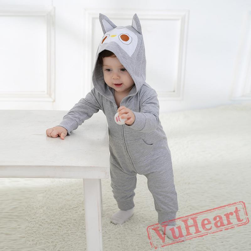 8459bd7d Winter Onesies - Baby Cute Owl Onesie Costume - Kigurumi Onesies