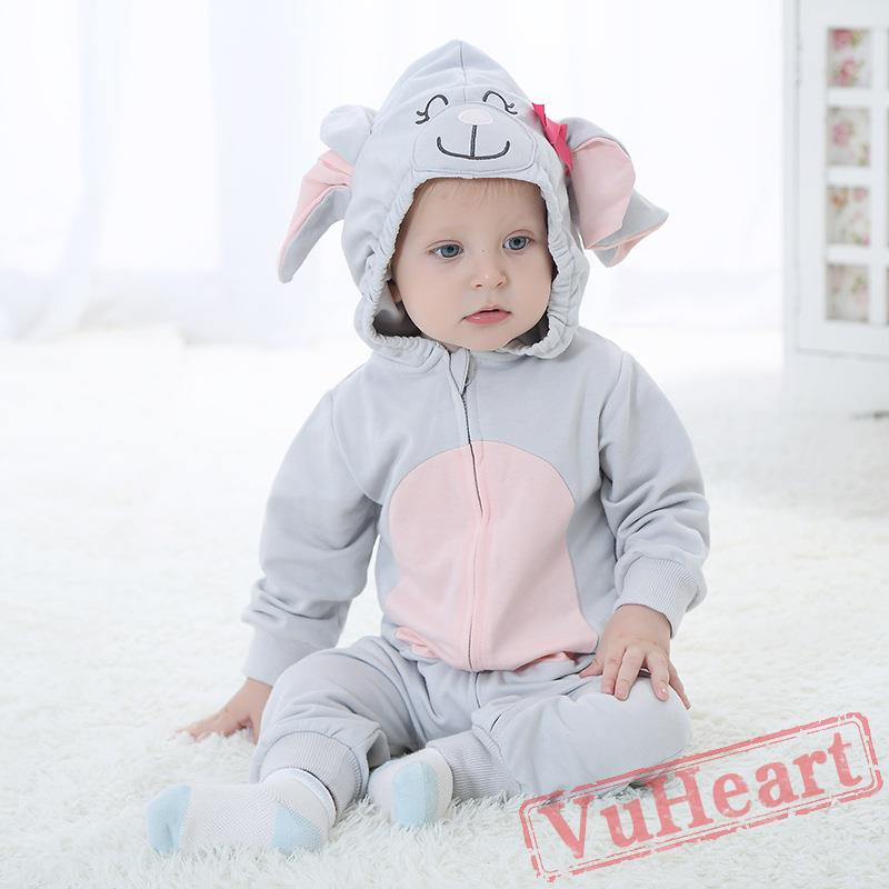 Baby Cute Elephant Onesie Costume - Kigurumi Onesies  sc 1 st  VuHeart & Winter Onesies - Baby Cute Elephant Onesie Costume - Kigurumi Onesies