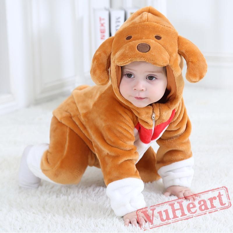 Baby Big Ear Dog Onesie Costume - Kigurumi Onesies  sc 1 st  VuHeart & Winter Onesies - Baby Big Ear Dog Onesie Costume - Kigurumi Onesies