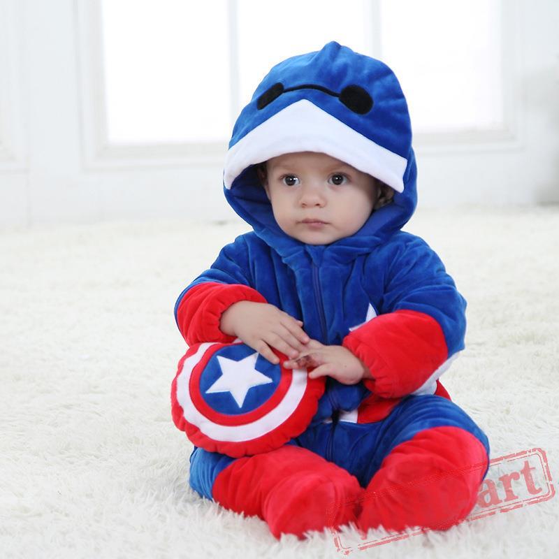 Winter Onesies Baby Big Hero Baymax Onesie Costume