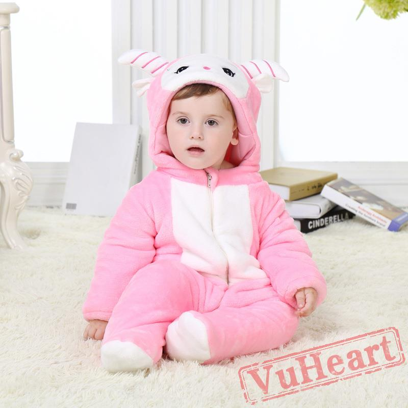 Baby Cute Sheep Onesie Costume - Kigurumi Onesies  sc 1 st  Adult Kigurumi Onesies : sheep toddler costume  - Germanpascual.Com