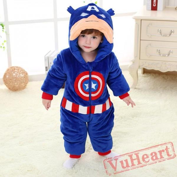 Baby US Captain Onesie Costume - Kigurumi Onesies