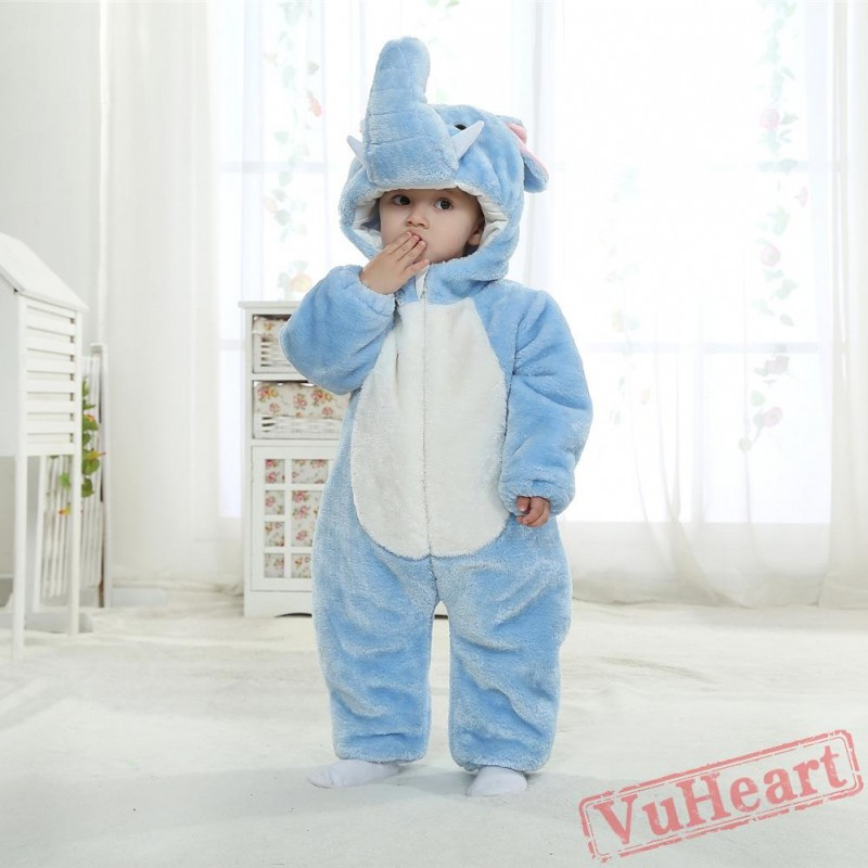 Winter Onesies Baby Elephant Onesie Costume Kigurumi