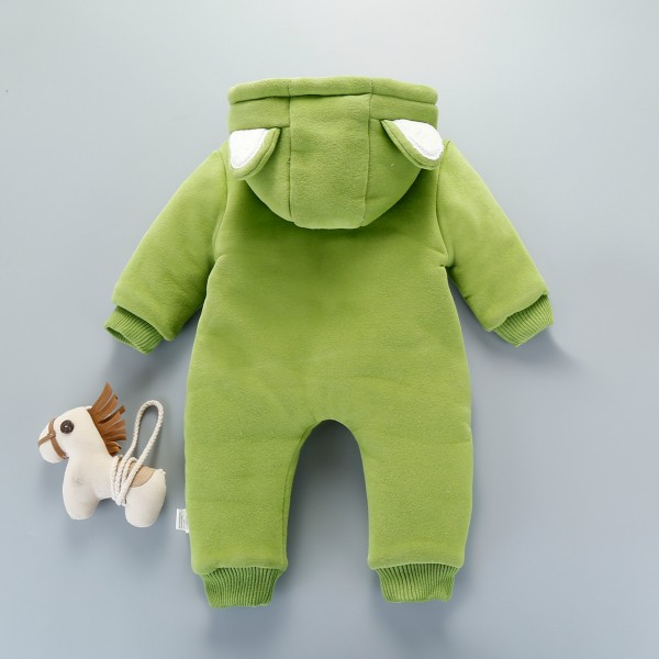 Green Panda Baby Boy & Girl Onesie Clothes