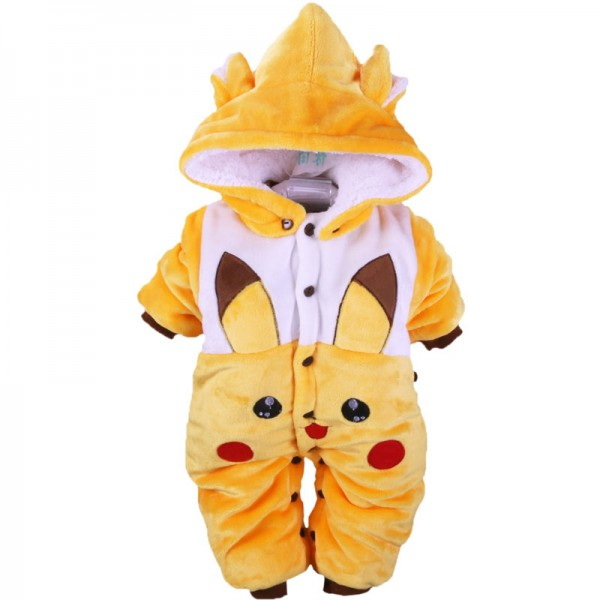 Newborn Baby Boy & Girl Pikachu Onesies / Outfits / Clothes 0 - 12 Month