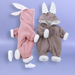 Newborn Baby Girl & Boy Rabbit Onesies / Outfits / Clothes 0 - 9 Month