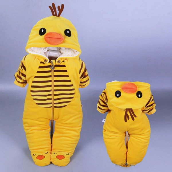 Newborn Baby Girl & Boy Duck Onesies / Outfits / Clothes 0 - 3 Month