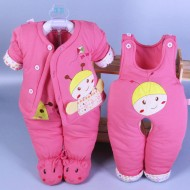 Newborn Baby Girl Outfits / Clothes Set 0 - 3 Month