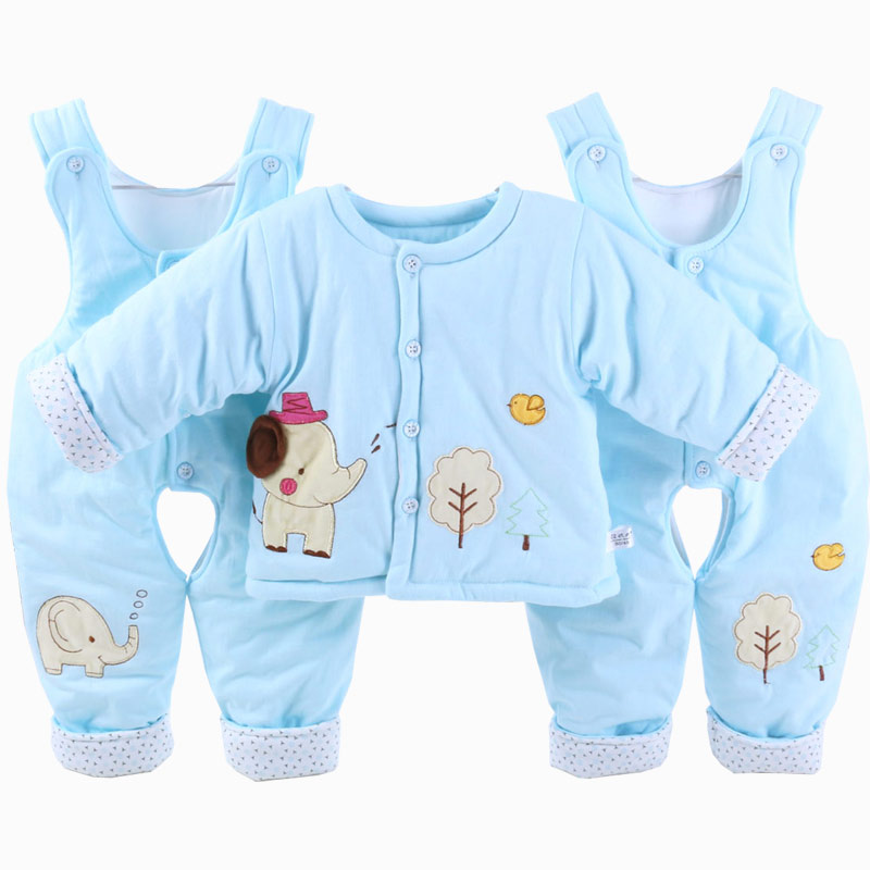 eaafb2b83e89 Newborn Baby Boy   Girl Elephant Outfits   Clothes Set 0 - 12 Month