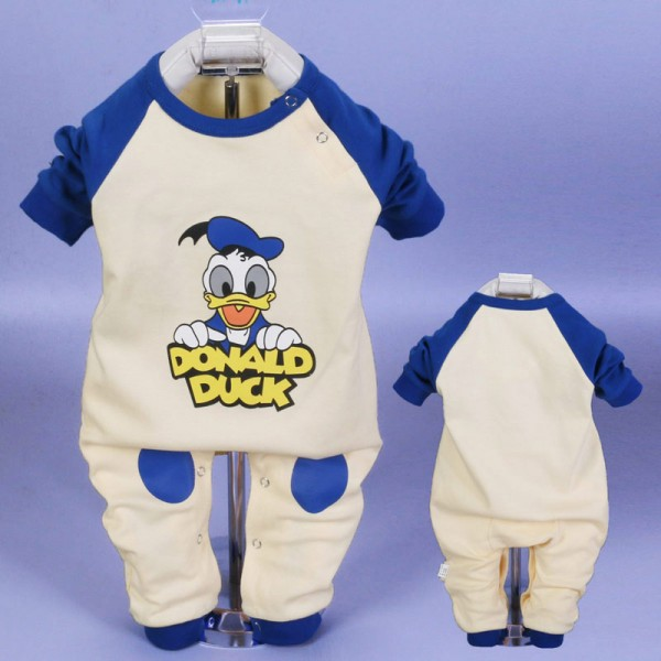Newborn Baby Boy Donald Duck Onesies / Outfits / Clothes 0 - 3 Month