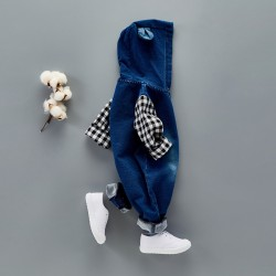 Baby Long Sleeve Denim Onesies Clothes Spring & Autumn