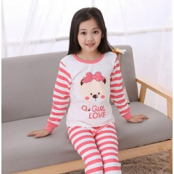 Autumn pajamas kids Girls sleepwear underwear pajamas kids kigurumi