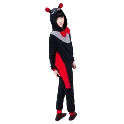 Cartoon Animal Pajamas for Kid Unisex Cosplay Hood Onesies