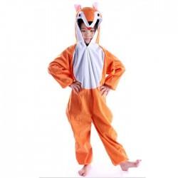 Lovely Kids Unisex Children Animal Pajamas Cartoon Onesie Fox