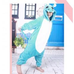 Kids Animal Onesie Children Cartoon Hippo Onesie Pajamas Sleepwear